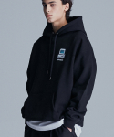 낫포너드(NOT4NERD) Dot Pc Mosaic Logo Pullover Hood Black