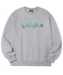 마크 곤잘레스() M/G WAVE CREWNECK GRAY