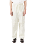 라이풀(LIFUL) EASY CONVERTIBLE CARGO PANTS ivory