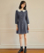 하케쉬(HACKESCH) Buddy Ribbon Dress_Navy