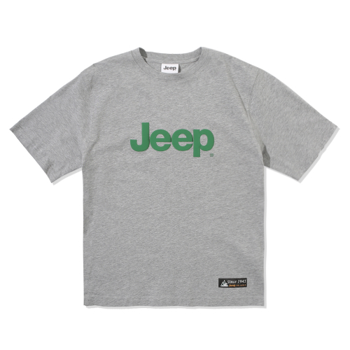 지프(JEEP) New Over Big Logo Half-Sleeves (GL2TSU093MG)