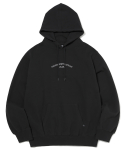디스이즈네버댓(THISISNEVERTHAT) S.W. ARC Hooded Sweatshirt Black