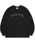 디스이즈네버댓(THISISNEVERTHAT) ARC-Logo L/SL Top Black