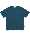 디스이즈네버댓(THISISNEVERTHAT) DSN-Logo Tee Dark Bluegreen
