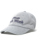 디스이즈네버댓(THISISNEVERTHAT) SOFT WORK Jersey Cap Grey