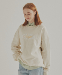 아야야() TWO LOGO SWEATSHIRT (CREAM)