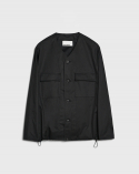 비슬로우(BESLOW) 20SS POCKET COTTON CARDIGAN BLACK
