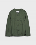비슬로우(BESLOW) 20SS POCKET COTTON CARDIGAN OLIVE