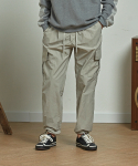 프리즘웍스(FRIZMWORKS) CARGO STRING PANTS _ LIGHT GRAY