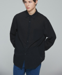 밸런스우드() CINNAMON INCISION SHIRT (BLACK)