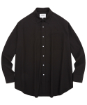 비바스튜디오(VIVASTUDIO) OVER FIT SHIRTS JS [BLACK]