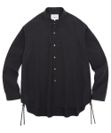 비바스튜디오(VIVASTUDIO) STRING SHIRTS JS [BLACK]