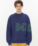스트리트 스탠다드() D47S302 BIG-LINE CREWNECK-NAVY