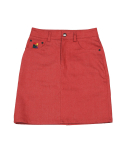 하이스쿨디스코(HIGH SCHOOL DISCO) Mini Block Skirt_Red