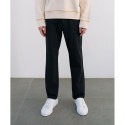 핸즈인더포켓() STRAIGHT FIT COTTON PANTS (BLACK) CNPA0EP04BK