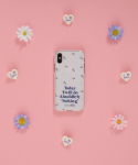 로라로라(ROLAROLA) (PC-20112) FLOWER PATTERN JELLY PHONE CASE MULTI