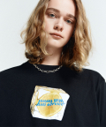 LEMON CUBE T-SHIRT(BLACK)