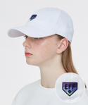 이벳필드() GRADATION HOMEBASE LOGO BALLCAP WHITE