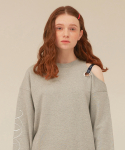 오아이오아이(OiOi) RIBBON SLIT REVIVAL JUMPER_grey