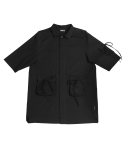 아조바이아조(AJOBYAJO) Tri Pockets Shirt [Black]