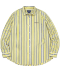 디스이즈네버댓(THISISNEVERTHAT) DSN-Logo Striped Shirt  Yellow
