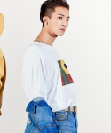 플랙(PLAC) MINO YOON ARTWORK GRAPHIC T-SHIRTS (PWTZ2RSL35UWHT)