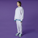 앤커버() Small Original handwriting track pants-light purple