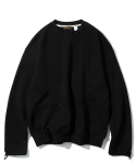 유니폼브릿지(UNIFORM BRIDGE) 20ss MxU pocket sweatshirts black