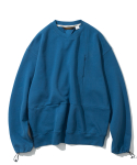 유니폼브릿지(UNIFORM BRIDGE) 20ss MxU pocket sweatshirts sky