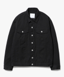 제로() Oversized Cotton Jacket [Black]