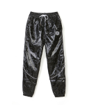 리버스 서울() METALIC CAMOFLAUGE PANTS [BLACK]