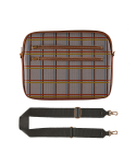 테이블토크(TABLETALK) iPad CROSS BAG_Check houndstooth