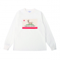샌드파이퍼() SNDPPR REPUBLIC LS T SHIRTS OFF WHITE