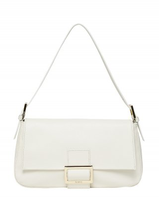 레이브(RAIVE) Real Leather Luke Bag in White_VX0SG0830