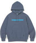 디스이즈네버댓(THISISNEVERTHAT) FD-Logo Hooded Sweatshirt Dark Bluegrey