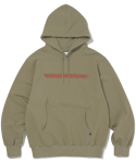 디스이즈네버댓(THISISNEVERTHAT) FD-Logo Hooded Sweatshirt Light Olive