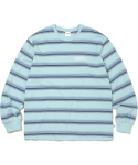 디스이즈네버댓(THISISNEVERTHAT) Striped L/SL Top Mint