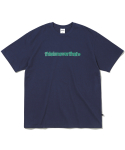 디스이즈네버댓(THISISNEVERTHAT) Cracked T-Logo Tee Dark Navy