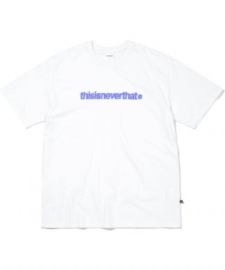 디스이즈네버댓(THISISNEVERTHAT) Cracked T-Logo Tee White