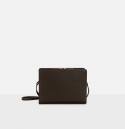 로서울(ROH SEOUL) Square medium shoulder bag Umber