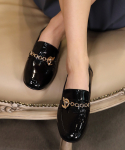 리플라() 20A702 black loafer