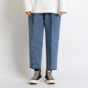 싱커루프(SINKERLOOP) Pintuck #2218(Crop Jeans - BLUE)