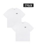 5252 바이 오아이오아이(5252BYOIOI) ORIGINAL LOGO 2 PACK T-SHIRTS_white