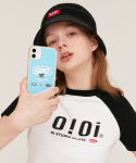 5252 바이 오아이오아이(5252BYOIOI) 5BO HOLOGRAM PHONE CASE_clear