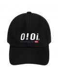 5252 바이 오아이오아이(5252BYOIOI) 2020 SIGNATURE LOGO BALL CAP_black