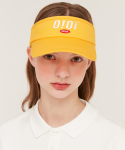 5252 바이 오아이오아이(5252BYOIOI) BASIC LOGO SUN VISOR_yellow