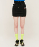 5252 바이 오아이오아이(5252BYOIOI) PIPING POINT TRACK SKIRT_black