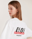 5252 바이 오아이오아이(5252BYOIOI) OI BACK LOGO T-SHIRTS_white
