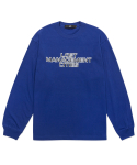 엘엠씨(LMC) LMC THREE TIER CHROME LONG SLV TEE royal blue