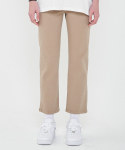 이치미(ICIMI) Cotton Span Skini Pants_Brown
